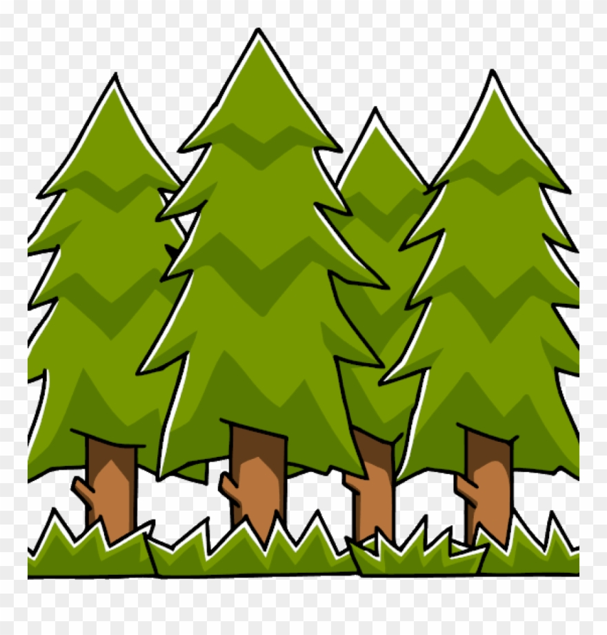Forest clipart free clip black and white stock Free Forest Clipart Free Forest Clipart At Getdrawings - Лес ... clip black and white stock