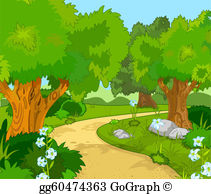 Forest clipart free image library library Forest Clip Art - Royalty Free - GoGraph image library library