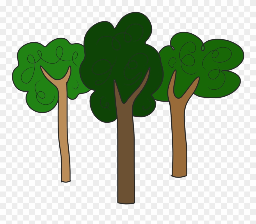Forest clipart transparent jpg library library Trees Tree Clipart Free Clipart Images - Clipart Forest Trees Png ... jpg library library