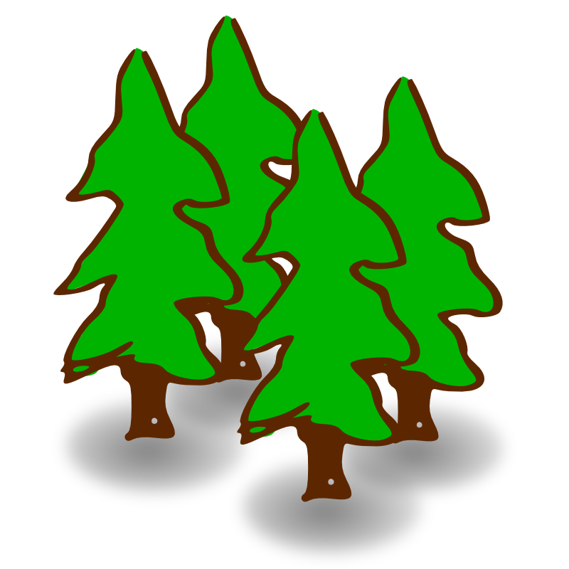 Forest cliparts vector free download Forest Clip Art & Forest Clip Art Clip Art Images - ClipartALL.com vector free download