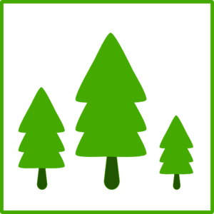 Forest icon clipart vector royalty free download Green Trees Icon Clip Art at Clker.com - vector clip art online ... vector royalty free download