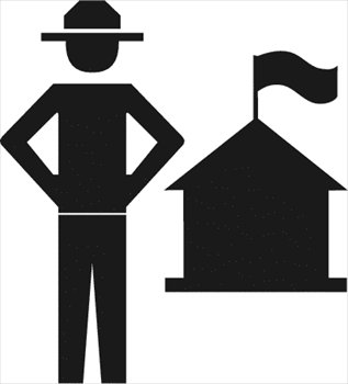 Forest ranger clipart picture black and white download Free forest-ranger Clipart - Free Clipart Graphics, Images and ... picture black and white download