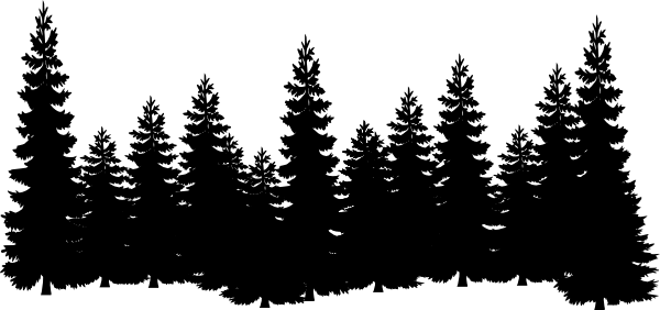Tree looks ne forest clipart picture transparent forest shilouettes | Forest clip art - vector clip art online ... picture transparent