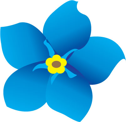 Clipart forget me not clip freeuse Forget me not flowers clipart - Cliparting.com clip freeuse