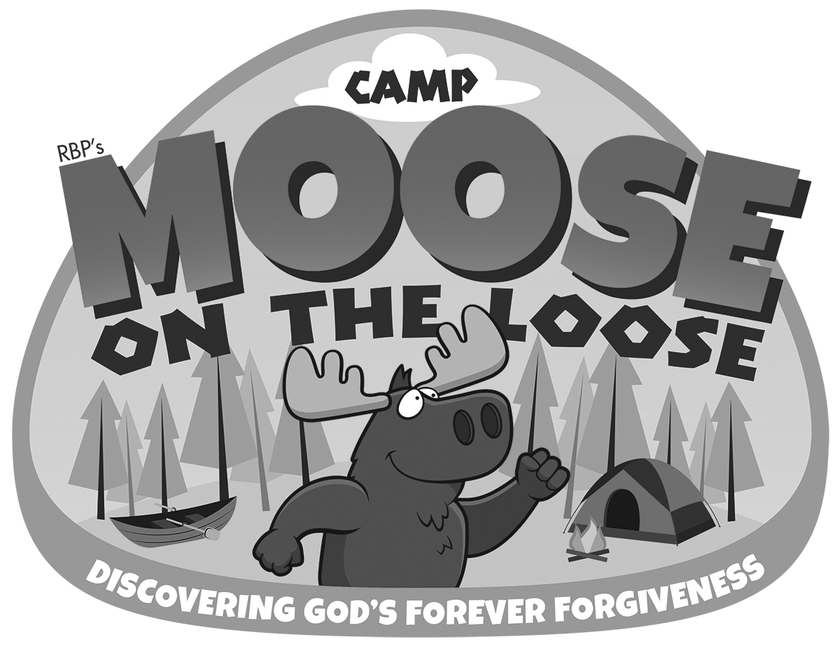 Forgive punish cross black and white clipart svg library stock Camp Moose on the Loose · VBS · Regular Baptist Press svg library stock