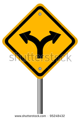 Fork in the road clipart high res speed skater vector black and white Fork In The Road Stock Images, Royalty-Free Images & Vectors ... vector black and white