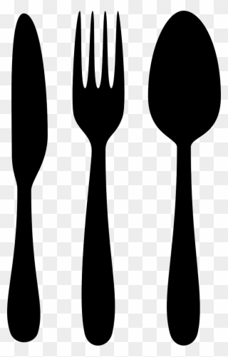 Fork knife spoon clipart black and white clip freeuse stock Free PNG Fork Knife And Spoon Clip Art Download - PinClipart clip freeuse stock