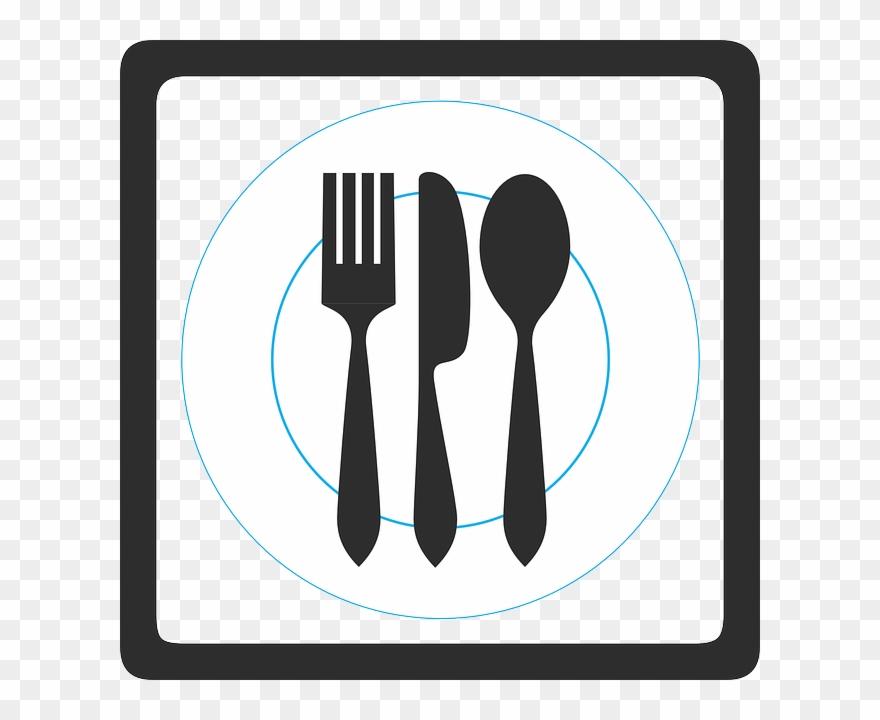 Fork knife spoon clipart black and white jpg library download Fork Knife Spoon Clipart Knife Fork Spoon - Fork Knife Spoon - Png ... jpg library download