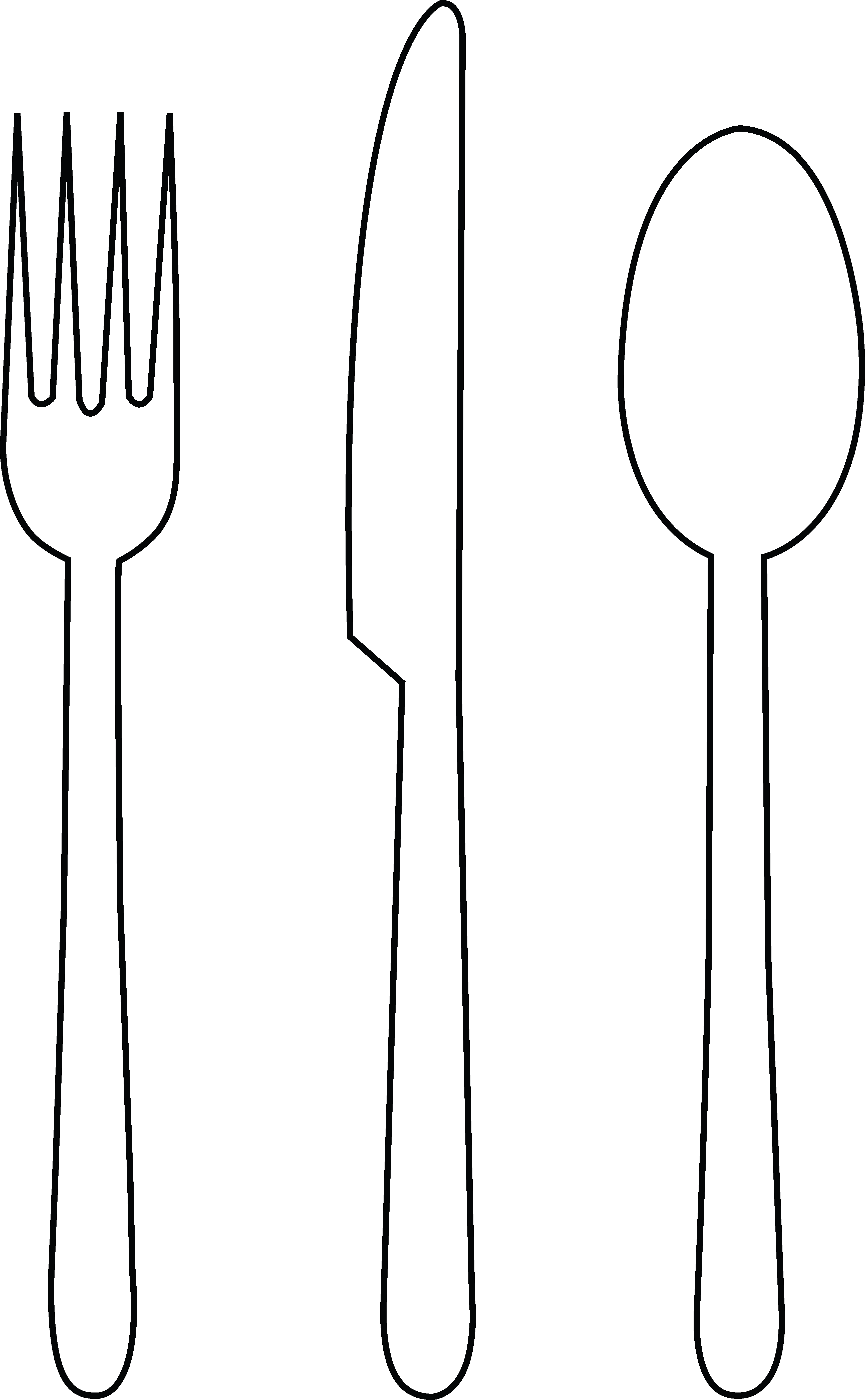White forks and knife clipart clip royalty free download Free Spoon And Fork Clipart, Download Free Clip Art, Free Clip Art ... clip royalty free download
