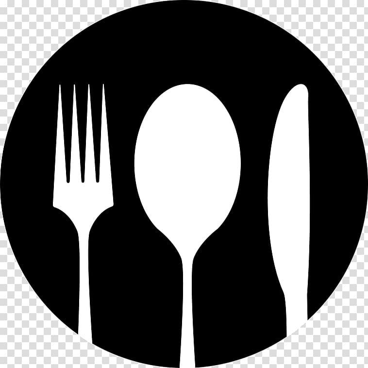 Fork knife spoon clipart black and white image transparent download Knife Fork Spoon , knife transparent background PNG clipart   HiClipart image transparent download