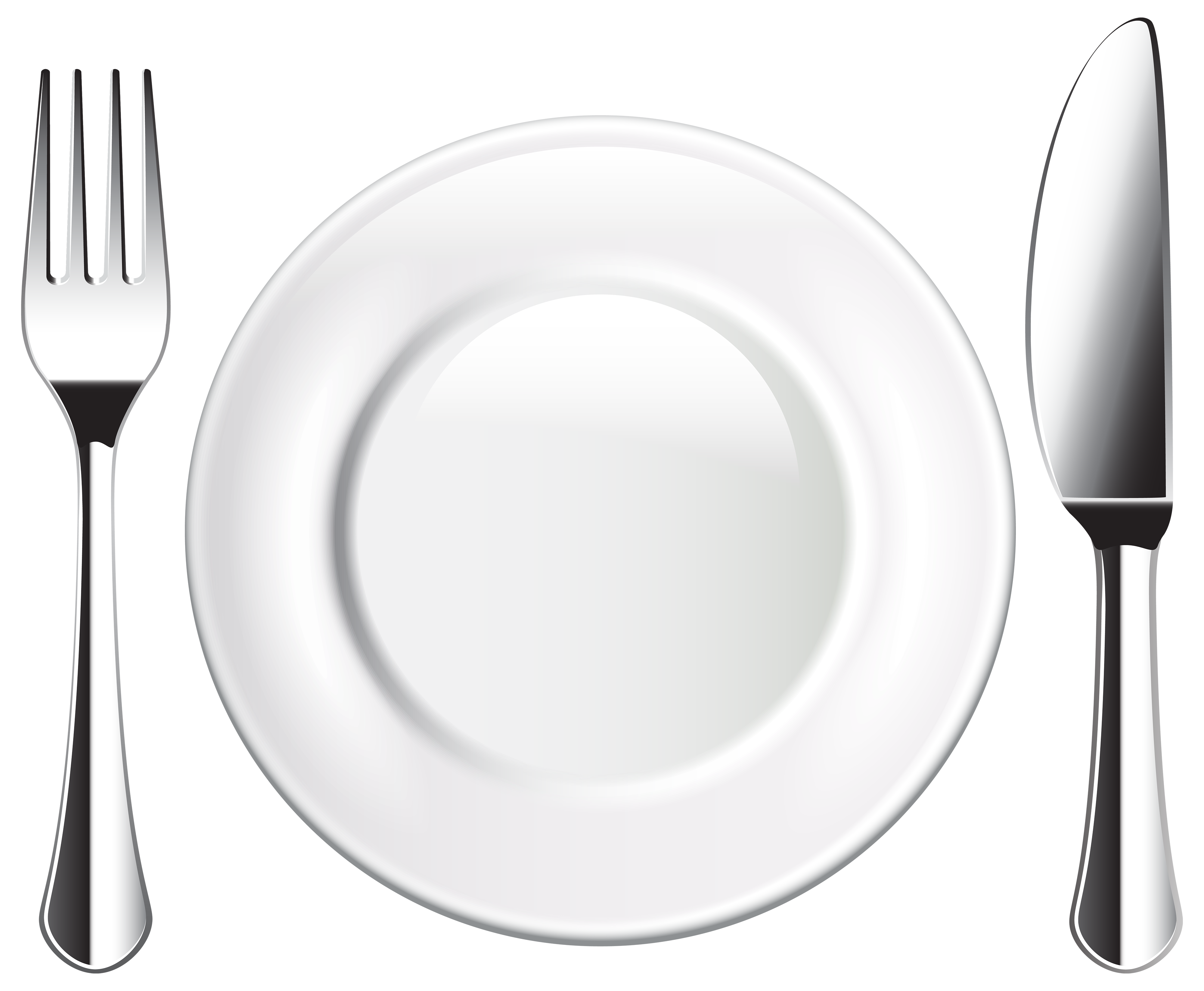 Fork spoon house clipart graphic library library Plate Knife and Fork PNG Clipart - Best WEB Clipart graphic library library