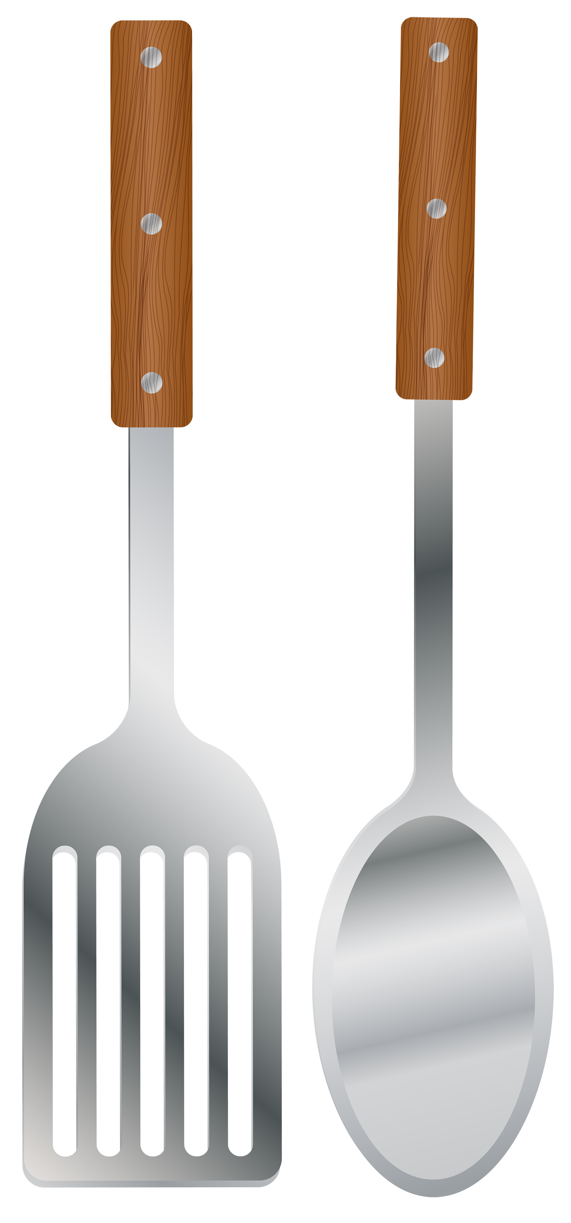Fork spoon house clipart clip art royalty free Kitchen Spoon and Spatula PNG Clipart - Best WEB Clipart clip art royalty free