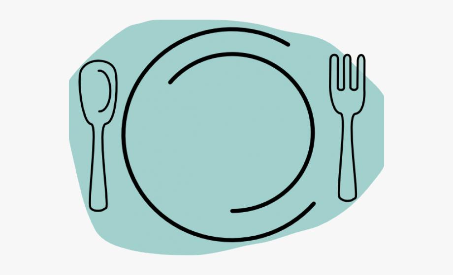 Fork thanksgiving dinner clipart black and white clip art library Cutlery Clipart Thanksgiving Dinner Plate - Spoon And Fork #745028 ... clip art library