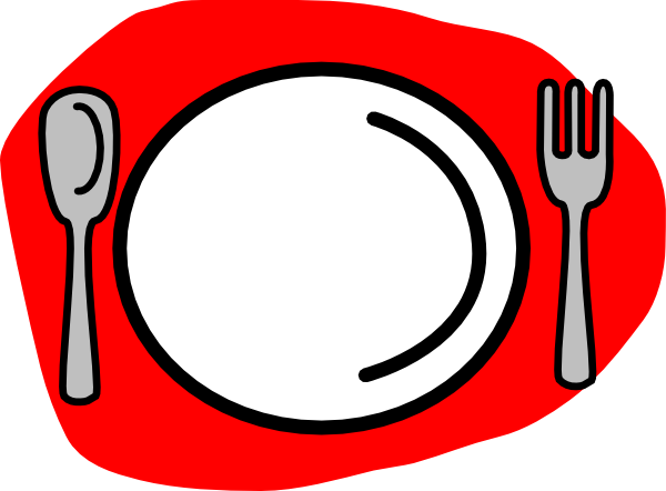 Forks and plates cliparts cartoon picture royalty free stock Spoon Plate Fork Clip Art at Clker.com - vector clip art online ... picture royalty free stock