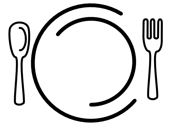 Forks and plates cliparts cartoon clip black and white Free Cartoon Knife And Fork, Download Free Clip Art, Free Clip Art ... clip black and white