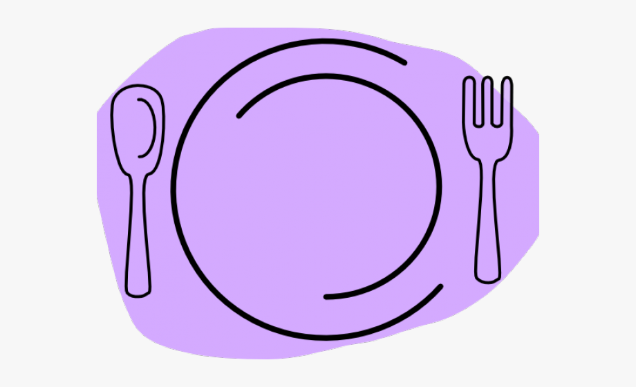Forks and plates cliparts cartoon clipart black and white stock Dinner Plate Clipart Animated - Plate Clip Art #87714 - Free ... clipart black and white stock