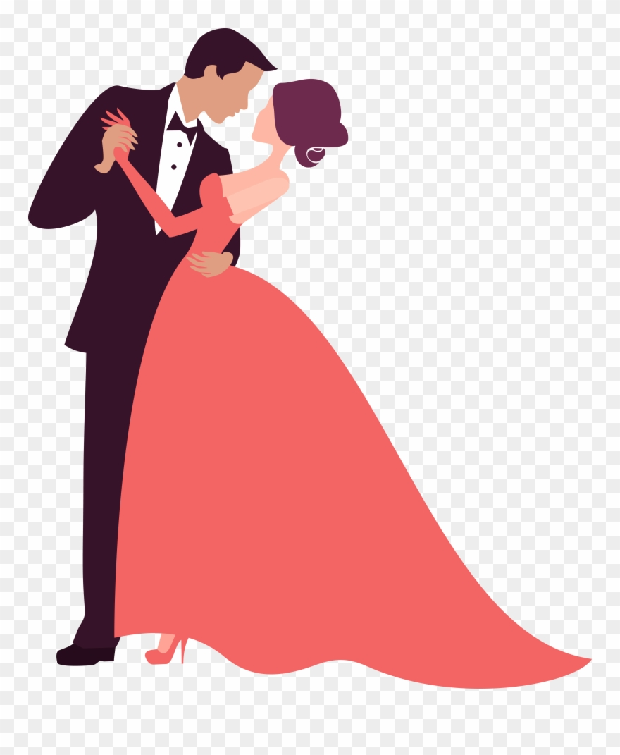 Formal ball clipart picture library library Bridegroom Photography Clip Art Couple Dancing Decoration - Wedding ... picture library library