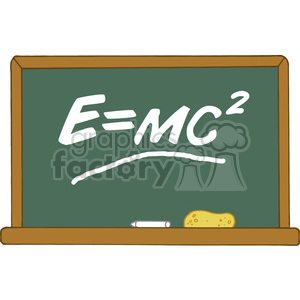 Formula e clipart clip royalty free 12827 RF Clipart Illustration Green Chalk Board With Einstein Formula E=mc2  clipart. Royalty-free clipart # 385161 clip royalty free