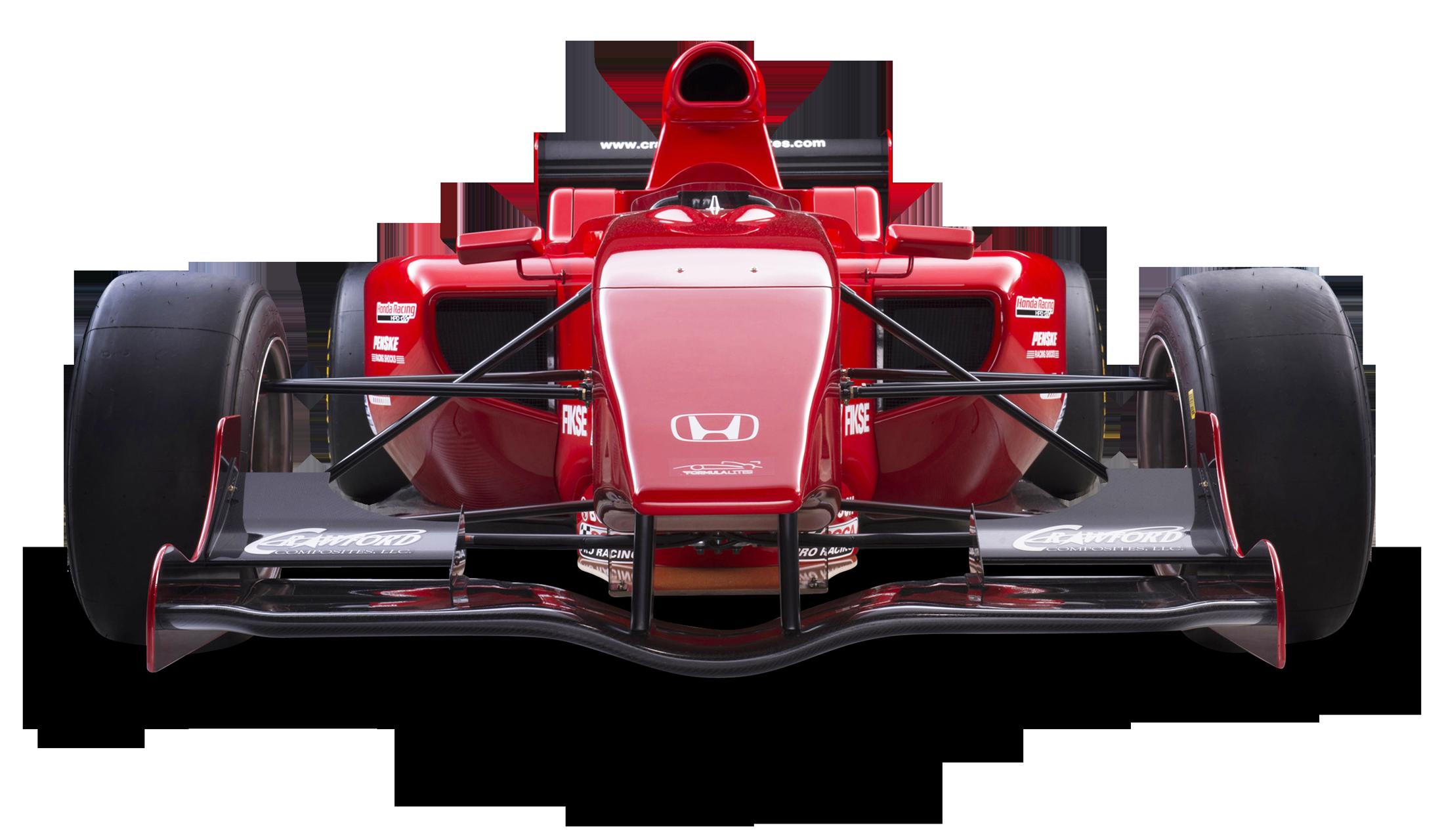 Formula one car clipart svg library download Red Honda Formula Lite Car PNG Image - PngPix svg library download