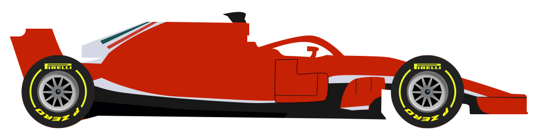 Formula one car clipart vector library library F1 2018 Drivers - Formula One - GP Hub vector library library