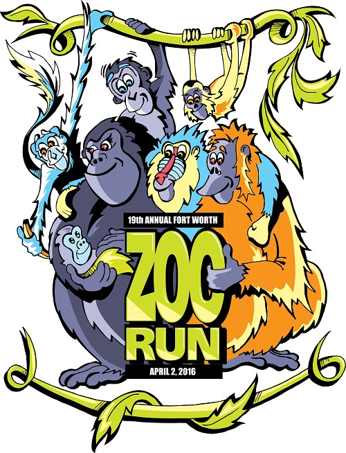 Fort worth zoo clipart image black and white library MCT: Ft Worth Zoo Run 2016 image black and white library