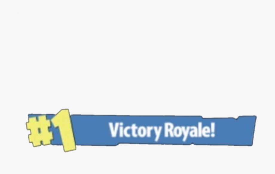 Fortnite 1 victory royale clipart picture transparent download Fortnite Clipart Victory Royale Banner - Fortnite #1 Victory Royale ... picture transparent download
