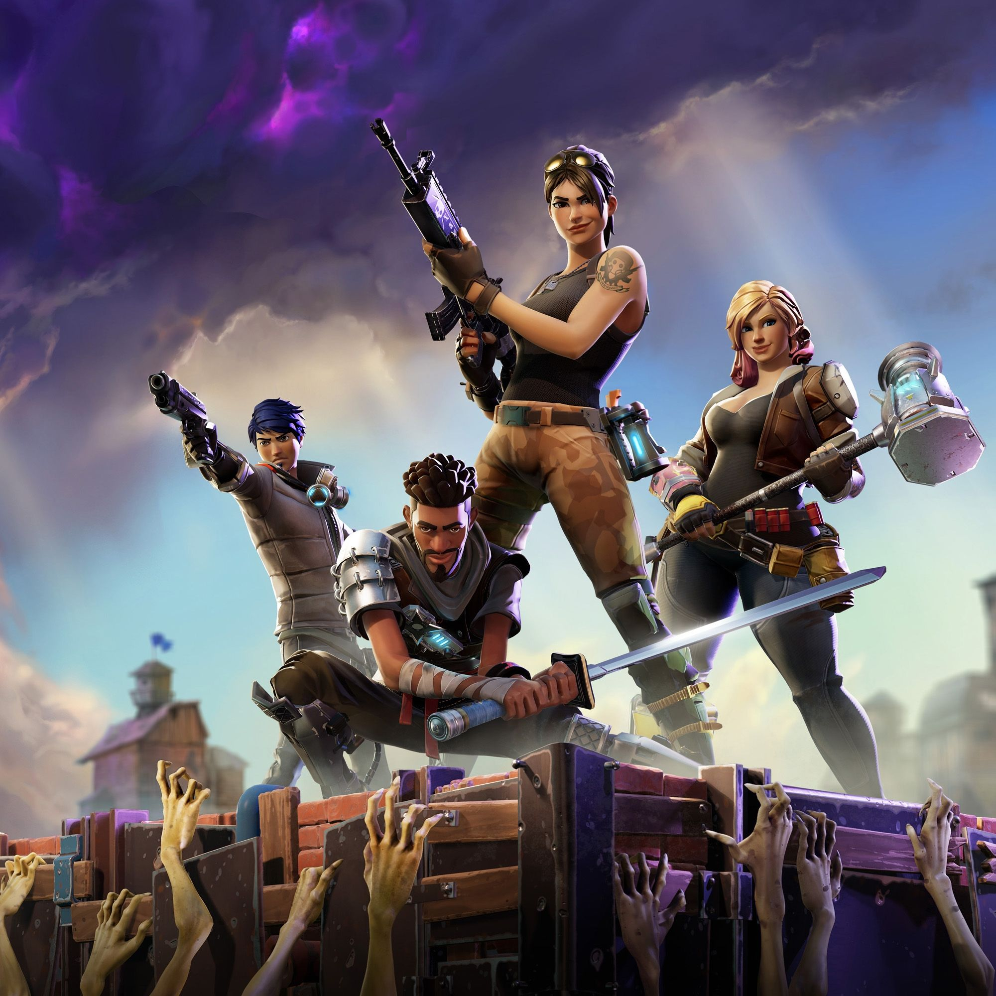 Fortnite background clipart graphic black and white stock Charerters Fortnite Phone Wallpapers - Top Free Charerters Fortnite ... graphic black and white stock