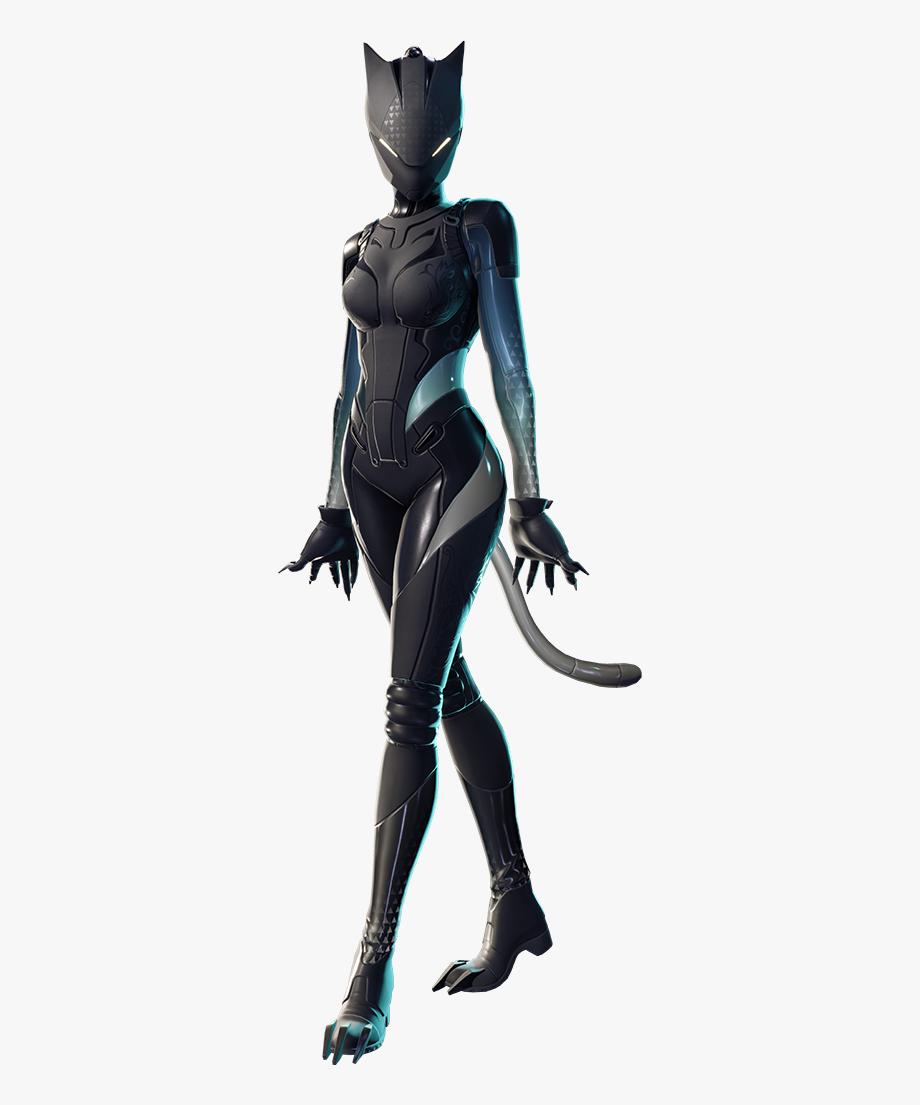 Fortnite battle royale black lynx skin clipart image freeuse download Outfit Fnbr Co Fortnite Transparent Background - Lynx Fortnite Skin ... image freeuse download