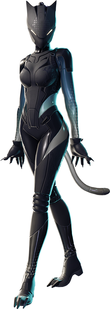 Fortnite battle royale black lynx skin clipart jpg transparent stock Outfit Fnbr Co Fortnite Transparent Background - Lynx Fortnite Skin ... jpg transparent stock