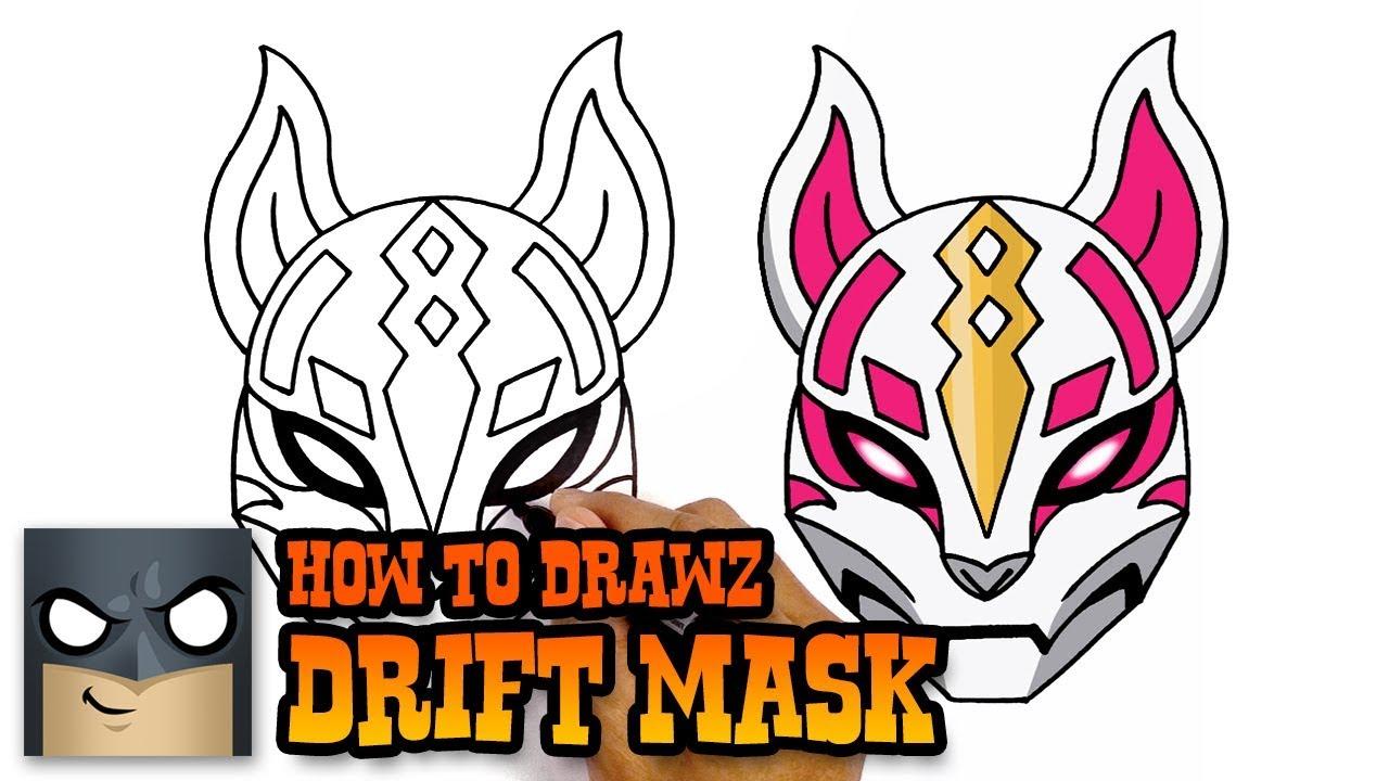 Fortnite drift clipart banner royalty free How to Draw Fortnite | Drift Mask banner royalty free