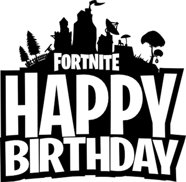 Fortnite happy birthday clipart vector library Fortnite Happy Birthday | Fortnite Aimbot Android vector library