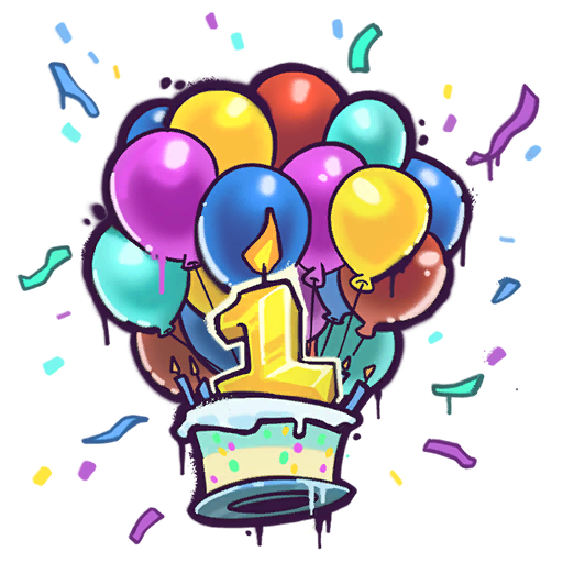 Fortnite happy birthday clipart clip black and white stock Happy Birthday! - Locker - Fortnite Tracker clip black and white stock