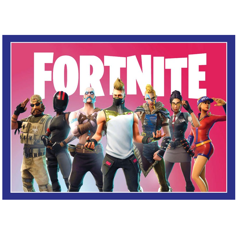 Fortnite happy birthday clipart banner free Buy Fortnite Party Supplies Online at Build a Birthday NZ banner free