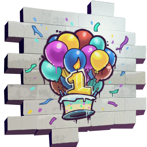 Fortnite happy birthday clipart vector library Uncommon Happy Birthday Spray Fortnite Cosmetic Dance at 10 ... vector library