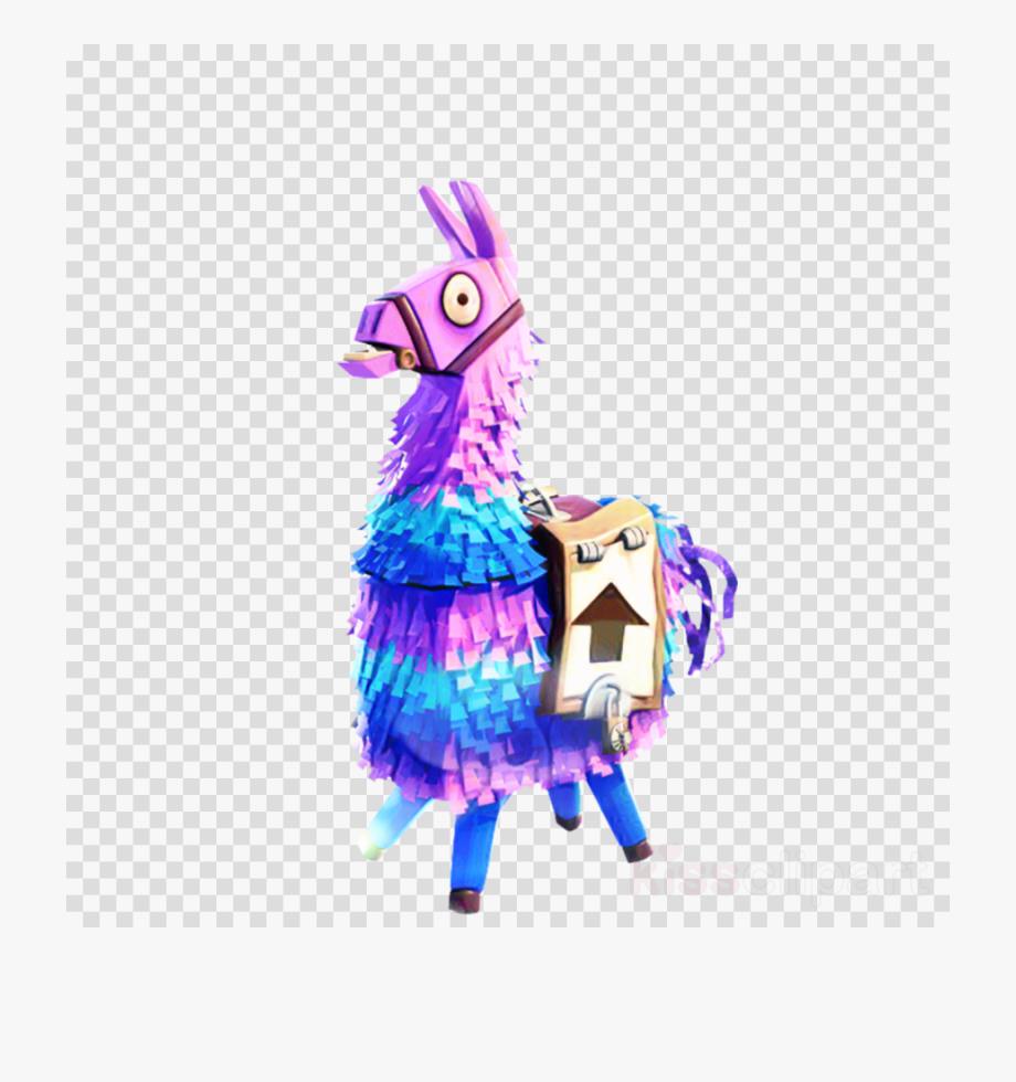 Fortnite lama clipart image Llama Clipart Pinata - Fortnite Llama .png #295565 - Free Cliparts ... image