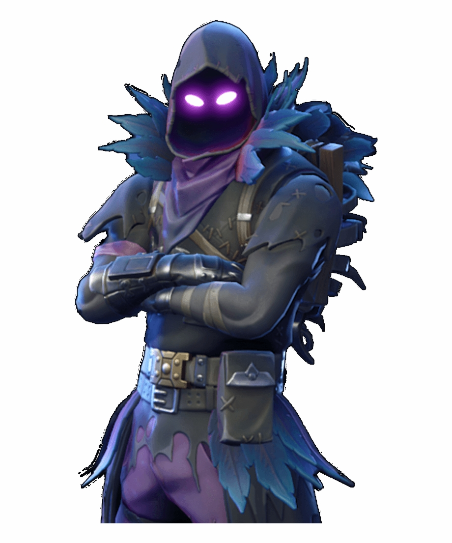 Fortnite raven clipart clip download Fortnite Transparent Raven Costume - Fortnite Raven Skin Png Free ... clip download