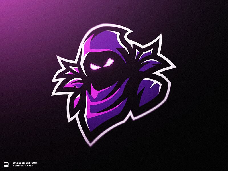 Fortnite raven clipart jpg library library Fortnite Raven Mascot Logo | Cool Design Ideas in 2019 | Game logo ... jpg library library