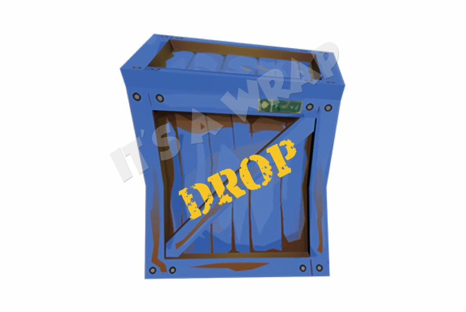 Fortnite supply drop clipart clipart free download 12 Fortnite Dropbox Square Gloss Stickers - Wood Free PNG Images ... clipart free download