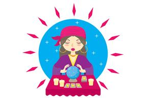 Fortune teller clipart free banner free library Fortune Teller Free Vector Art - (851 Free Downloads) banner free library