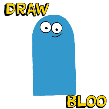Fosters home for imaginary friends bloo clipart image transparent library How to Draw Bloo from Foster\'s Home for Imaginary Friends - How to ... image transparent library