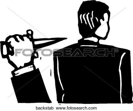 Foto search clip art jpg royalty free Clipart of Back Stabbing backstab - Search Clip Art, Illustration ... jpg royalty free