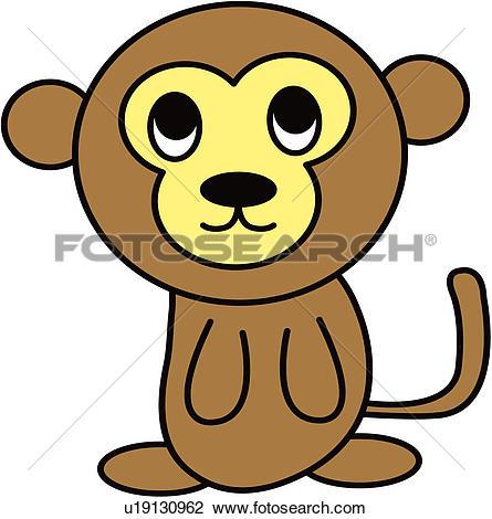 Foto search clip art clip art download Clipart of fortune, monkey, land animal, vertebrate, animal ... clip art download