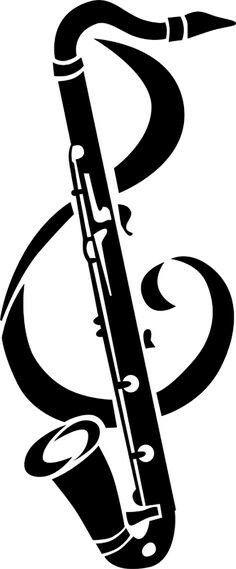 Foto search clip art jpg free download Clipart of Saxophone with musical notes k21002135 - Search Clip ... jpg free download