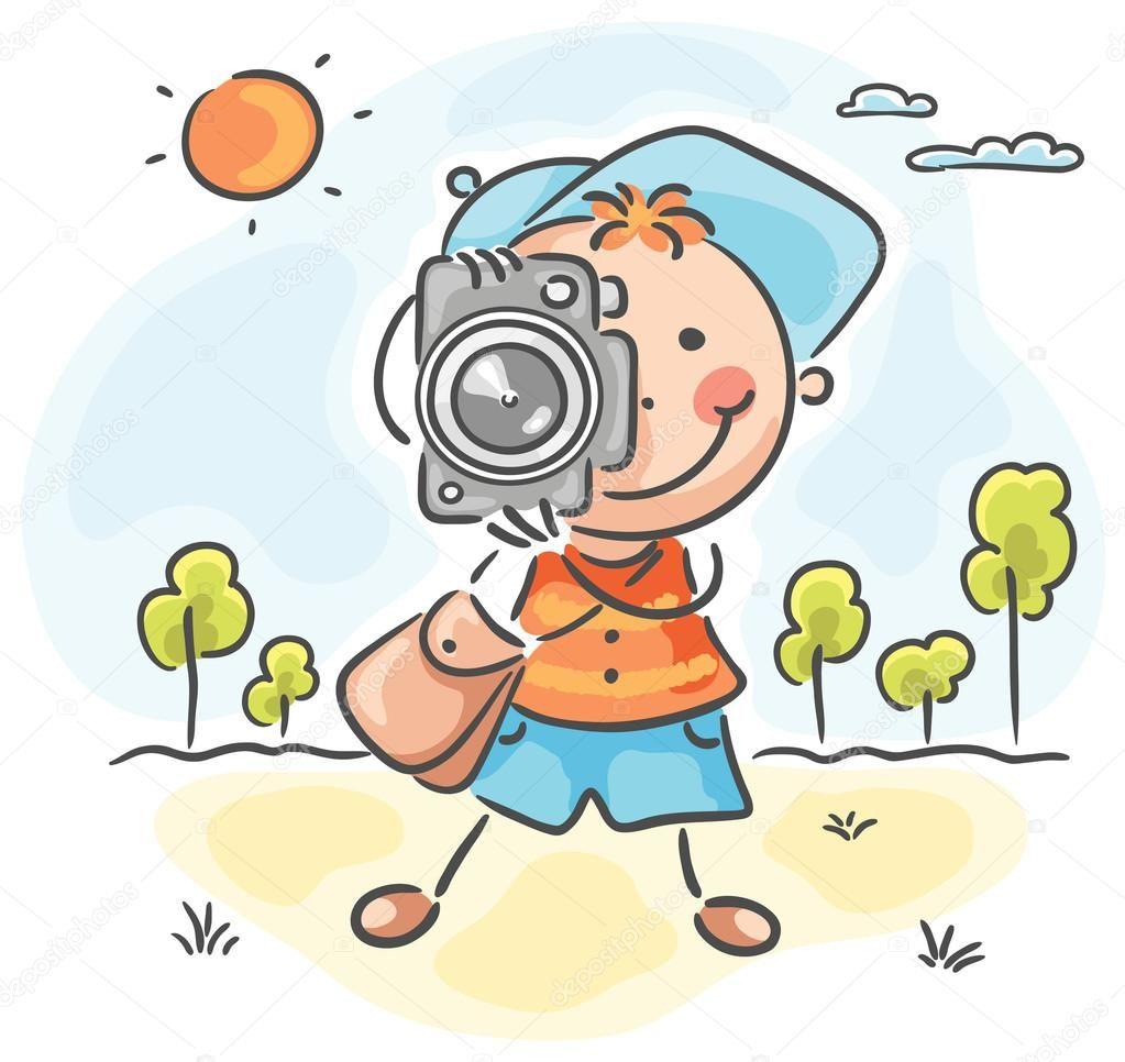 Fotografo clipart vector free stock Resultado de imagen de children FOTOGRAFO dibujo | Niños | Dibujos ... vector free stock