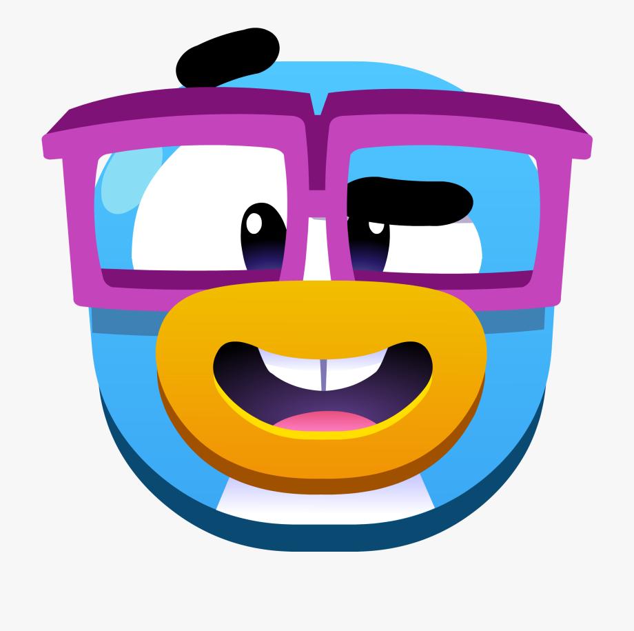 Fotos de emojis clipart clip art freeuse download Nerd Clipart Emoji - Emojis De Club Penguin Png #183001 - Free ... clip art freeuse download