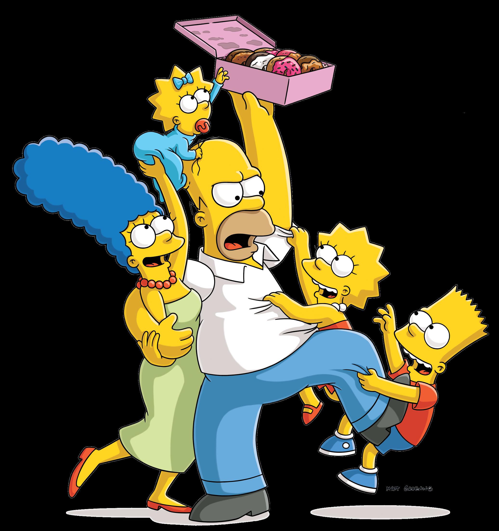 Simpsons png images free. Fotos de los simpson clipart