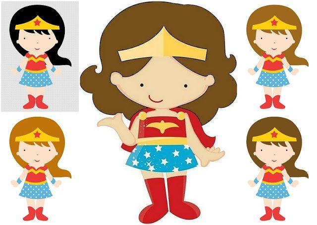 Fotos de mujeres clipart svg library stock Clipart de la Mujer Maravilla Bebé. | MIS INTERESES | Mujer ... svg library stock