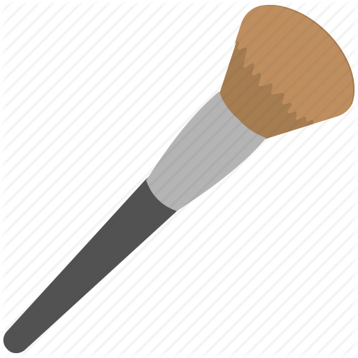 Foundation brush clipart svg stock \'Hair Saloon\' by Creative Stall svg stock