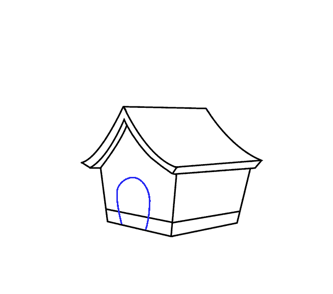 Foundation of a house clipart clipart transparent library How to Draw a Cartoon House in a Few Easy Steps | Easy Drawing Guides clipart transparent library