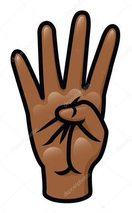 Four fingers clipart graphic royalty free stock Download four fingers clipart Finger Clip art graphic royalty free stock